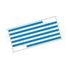 Mediloops maxi super blau 5,0 x 1,5 mm (2 x 10 Stück) (Gefäß-Schlingen)