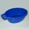 Waschschüssel mit Seifenablage blau