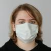 OP-Maske Mundschutz, 3-lagig, mit Gummi (50 Stück)