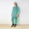 Patienten- / Schutzmantel grün zum Binden 130 cm lang (10 Stück)
