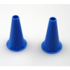 Ohrtrichter für All Spec 2,5 mm blau (50 Stück)
