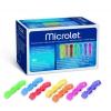 Microlet Lanzetten farbig (100 Stück)