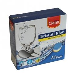 Geschirr-Reinigertabs Clean, 3 in 1 (15 Tabs)