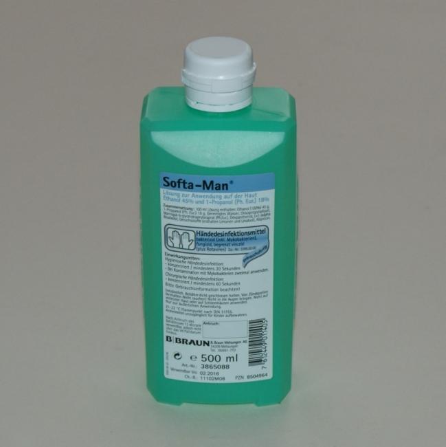 Softa-Man 500 ml, Händedesinfektion