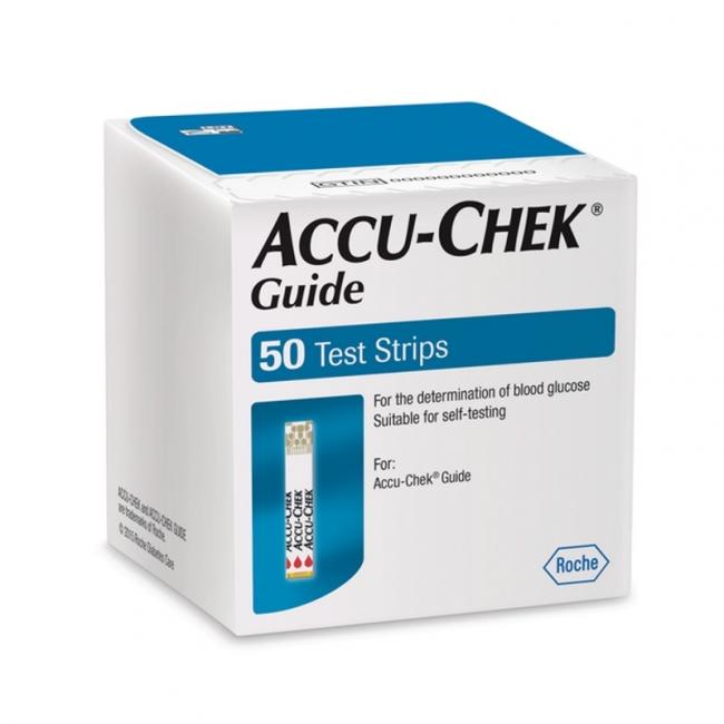 Blutzuckerteststreifen Accu-Chek Guide (50 Stück)