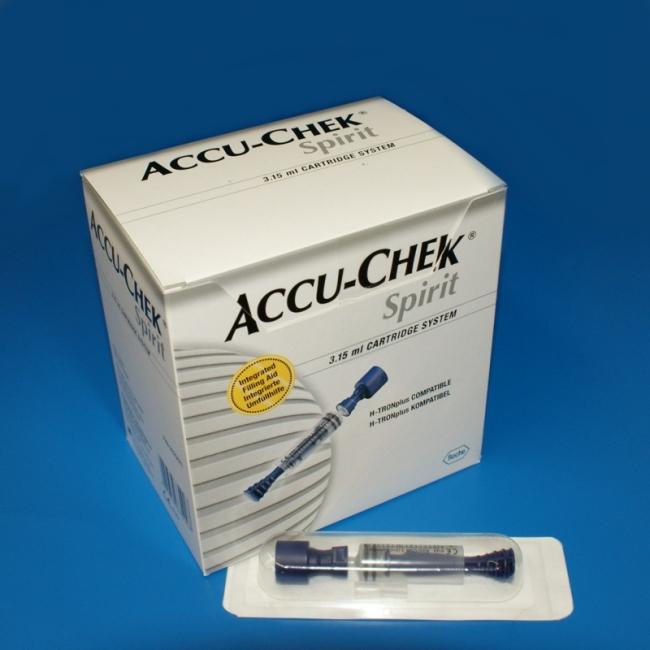 Accu-Chek 3,15 ml Ampullen-System (25 Stück)
